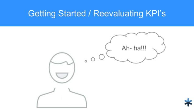 Getting Started / Reevaluating KPI's Ah- ha!!!