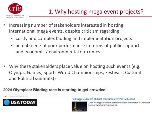 hosting and bidding for mega events 1 mega sporting events and legacy: the case of the 2014 world cup authors: airton saboya valente junior universidad de valencia phd student, institute of local.