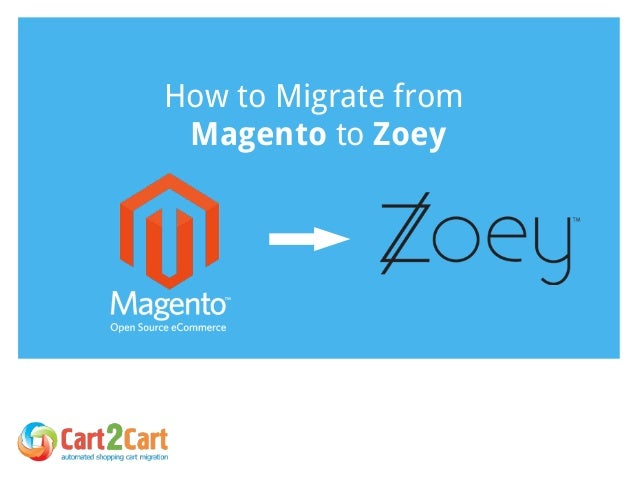 How to Migrate from Magento to Zoey