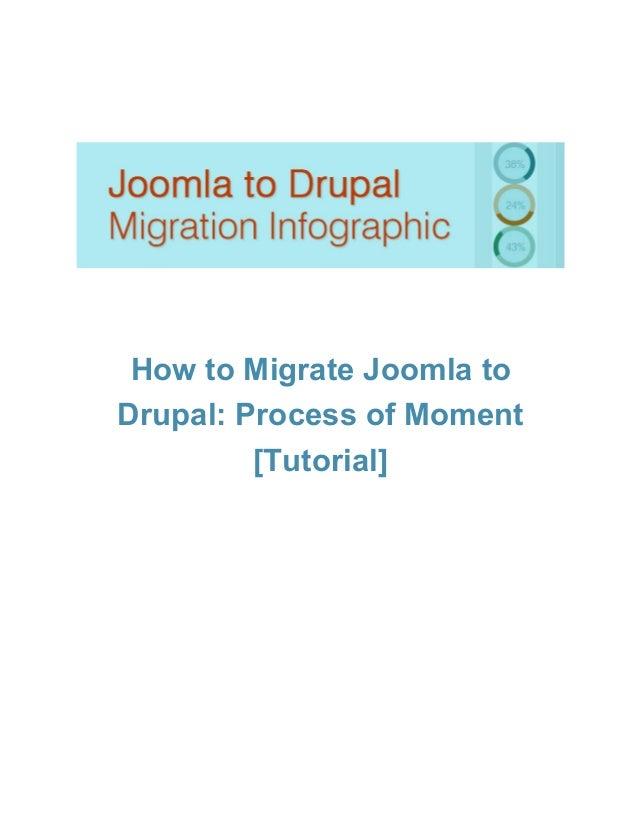 HowtoMigrateJoomlato Drupal:ProcessofMoment [Tutorial]