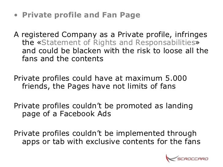 how to make a fan page private on facebook