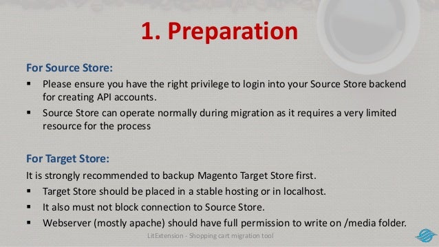 How to migrate data from Shopify to Magento 2 with LitExtension