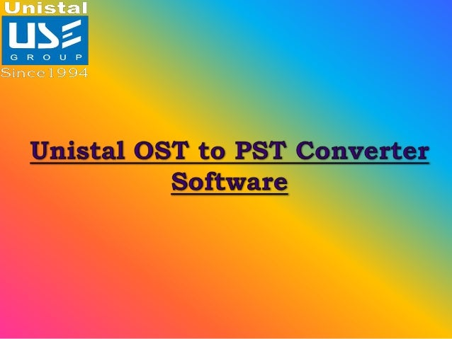An OST to PST Converter Software is required when we are facing an OST email corruption due to various technical glitches ...
