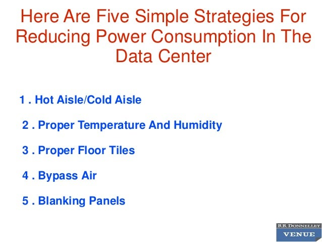 How To Minimize Energy Consumption In Data Room Operations