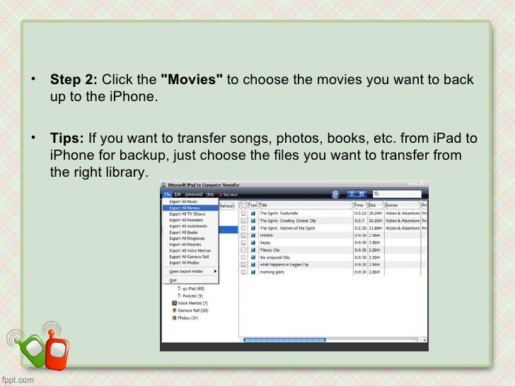 how to move videos from pc to iphone