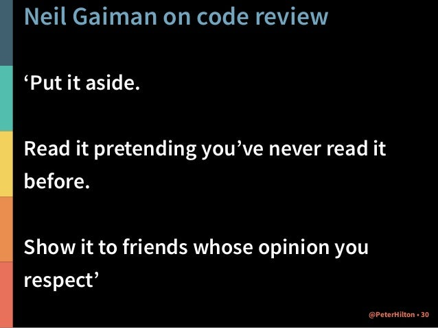Neil Gaiman on open source 'The main rule of writing is that if you do it with enough assurance and confidence, you're all...