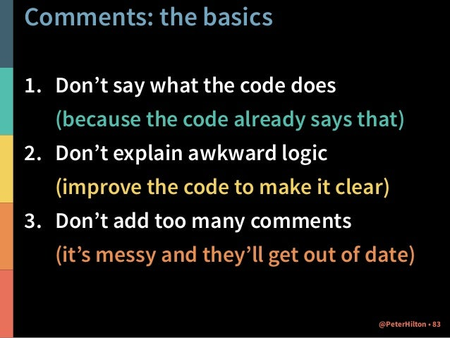 How to name things: the hardest problem in programming