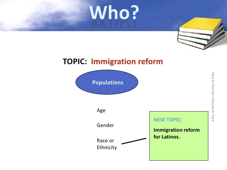 research paper on immigration reform Michael greenstone and adam looney provide background information on the state of america's immigration system, and discusses the.