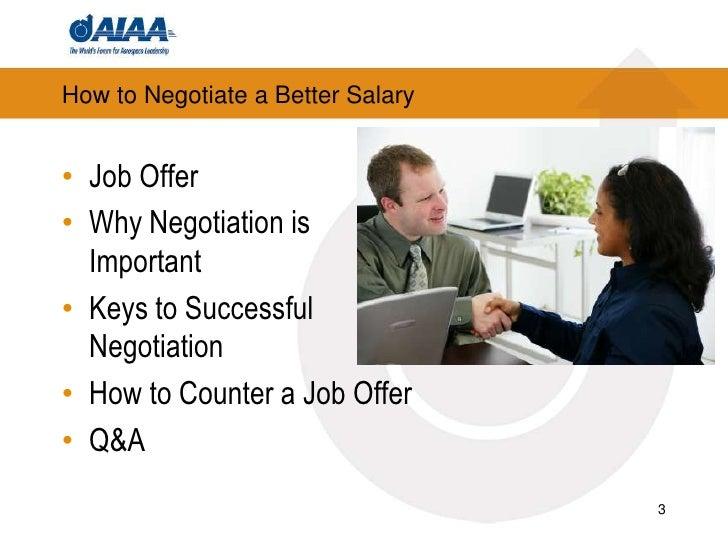 negotiating a job offer salary