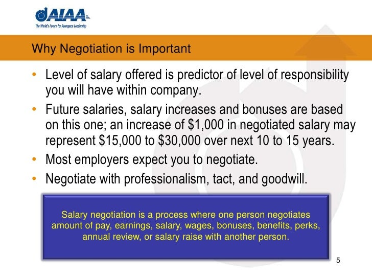 how to negotiate salary 5