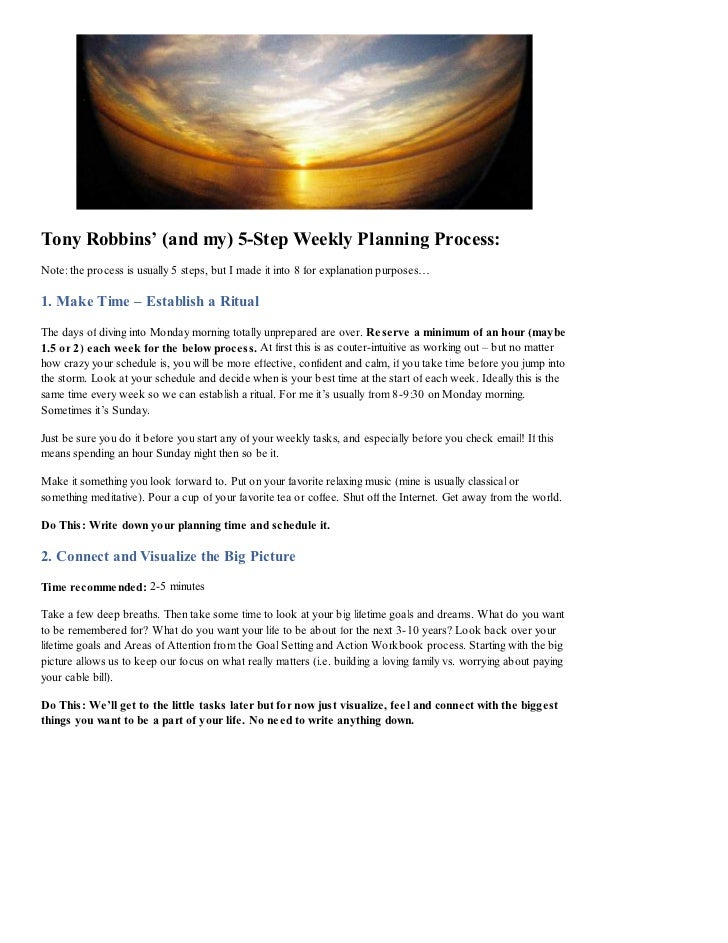 anthony robbins time management pdf lotterydagor. Black Bedroom Furniture Sets. Home Design Ideas