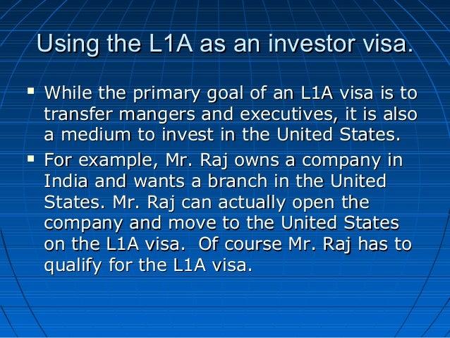 Is L1 Visa Transferable