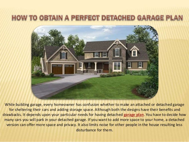 How to obtain a perfect detached garage by behm garage plans for How to build an attached garage