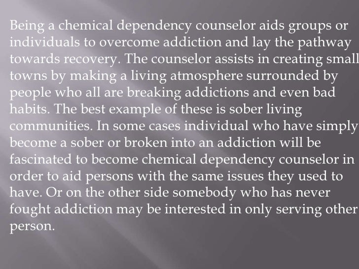 chemical dependency counseling The center for great expectations valley rehab services outpatient rehab long island chemical dependency counseling rehabilitation center colorado springs.