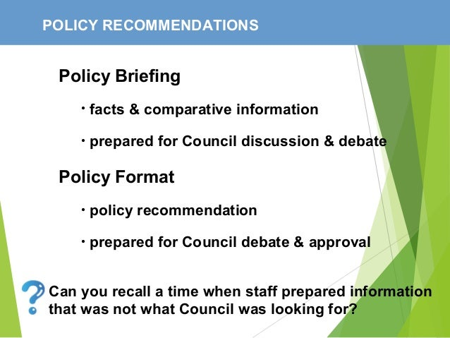 the policy making process Decision-making, then, is a continuous process with numerous people  participating at any given time, government is at various stages of policy-making  in a.