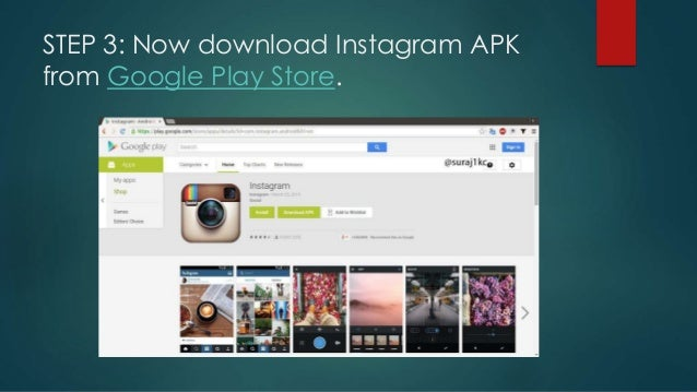 How to open an instagram account via pc
