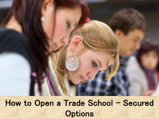 What are trade school options