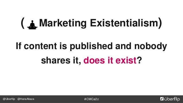 @Uberflip #CMCa2z@HanaAbaza You're smart. You know this. You make ridiculously good content.