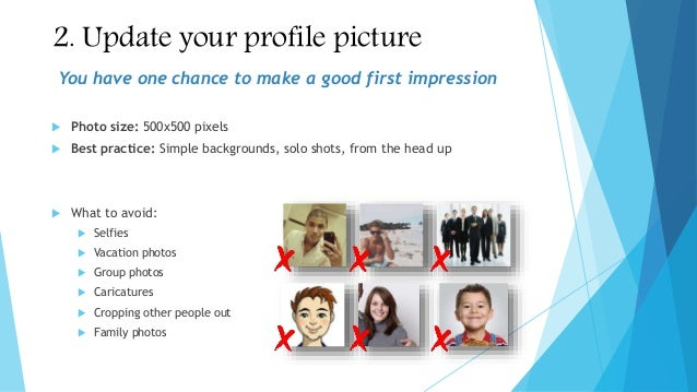 how to make include a photo on linkedin work experience