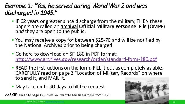 How To Order Military Records