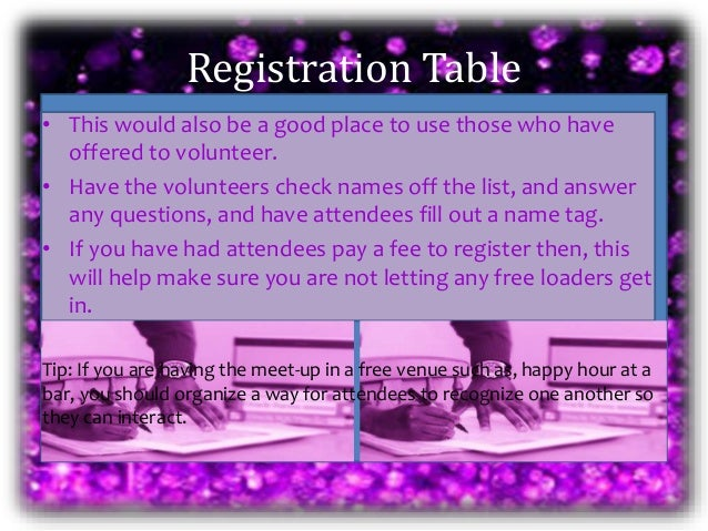 arrange to meet up