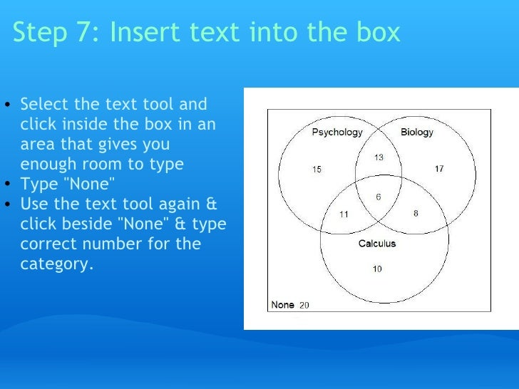 How To Organize And Interpret Information With Venn Diagrams Using Pa
