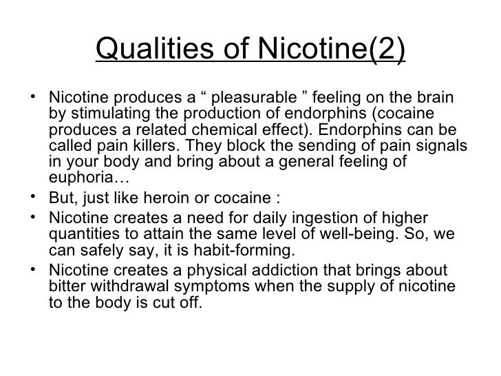how to avoid nicotine addiction