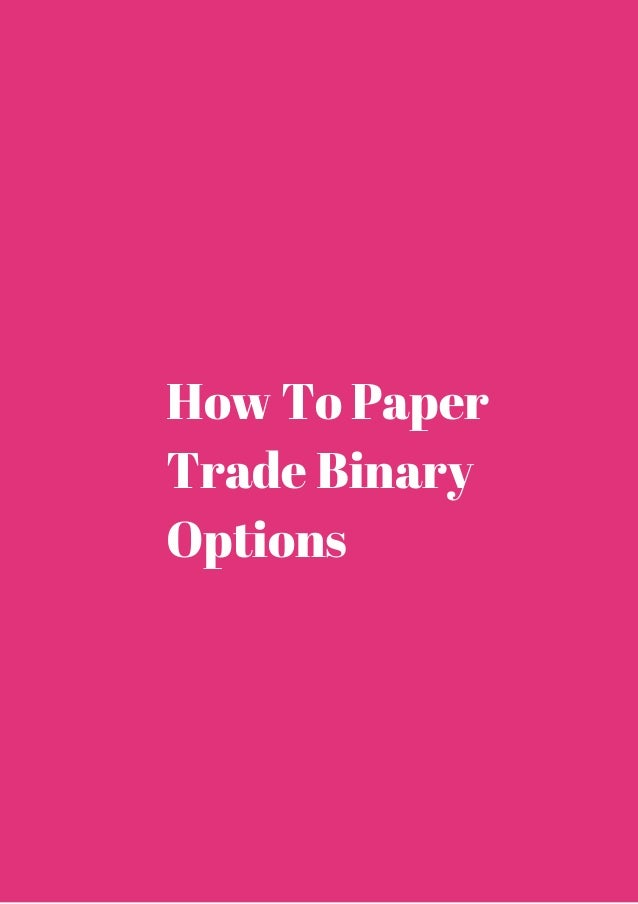 Paper Trade