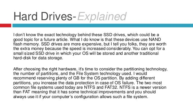 how to partition a drive