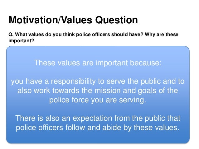 PASS THE POLICE PROCESS - How to pass the police officer interview (N…