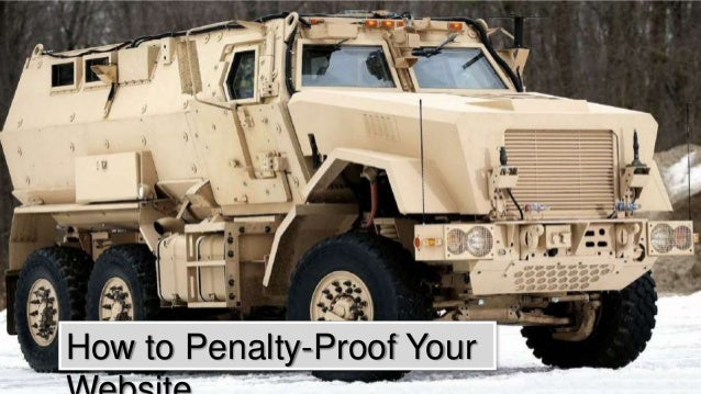 How to Penalty-Proof Your