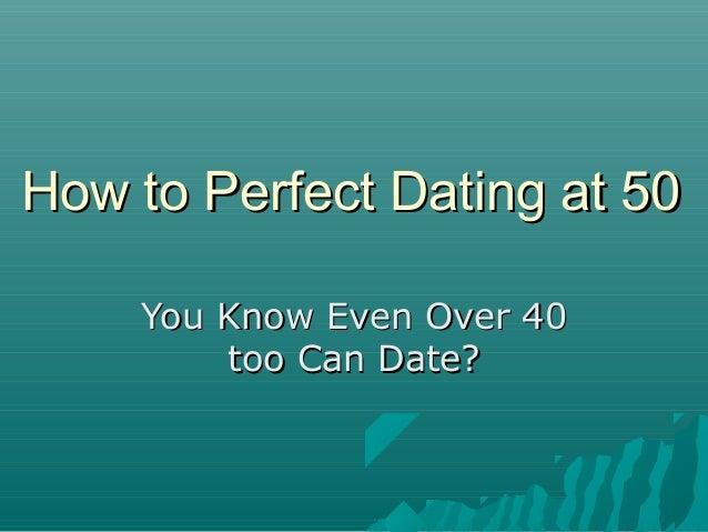 dating at 50
