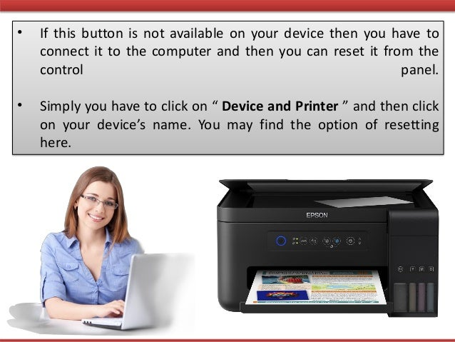 How to Perform a Quick Reset of the Epson Printer?