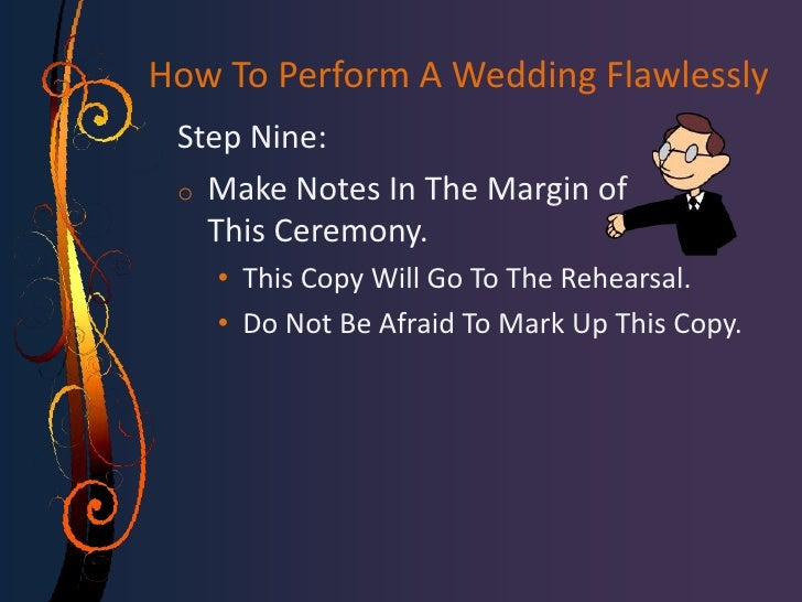 How to perform a wedding flawlessly for How do i get ordained to perform wedding ceremonies