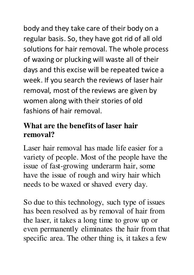 How to perform laser hair removal on your underarms Slide 2
