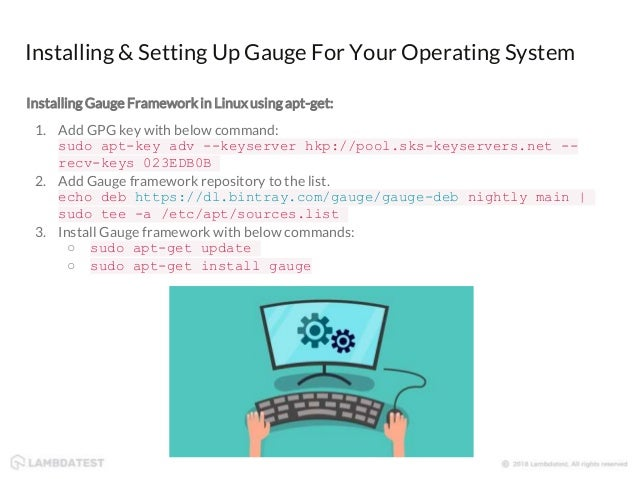 How to Perform Test Automation With Gauge & Selenium Framework