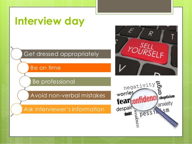 how to prepare well for a job interview some conclusion