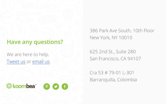 Have any questions? We are here to help.  Tweet us or email us.  TM  386 Park Ave South, 10th Floor New York, NY 10010  62...