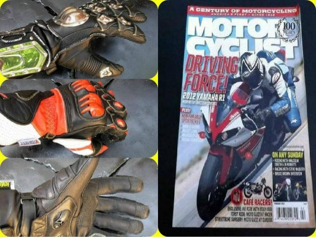 How to pick the perfect motor cycle gloves Slide 2