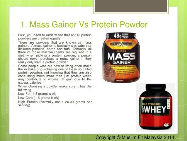 gainer eller protein