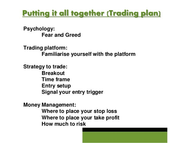 Forex trader business plan