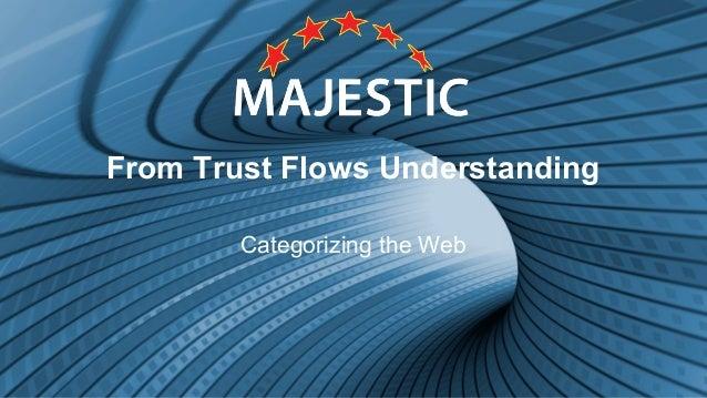 From Trust Flows Understanding Categorizing the Web