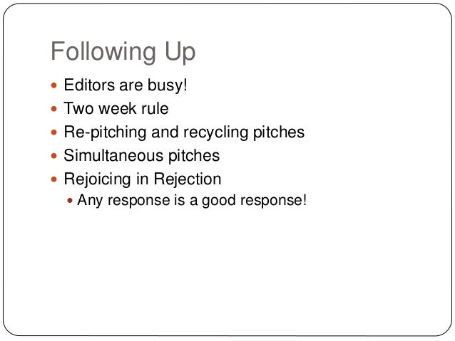 How to write a pitch for an app