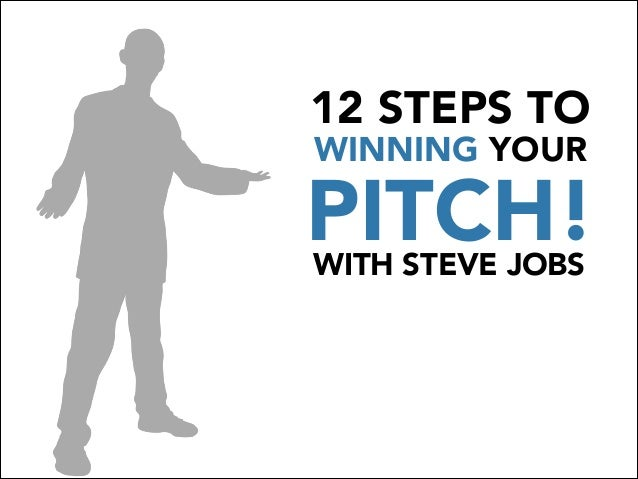 12 STEPS TO WINNING YOUR PITCH!WITH STEVE JOBS
