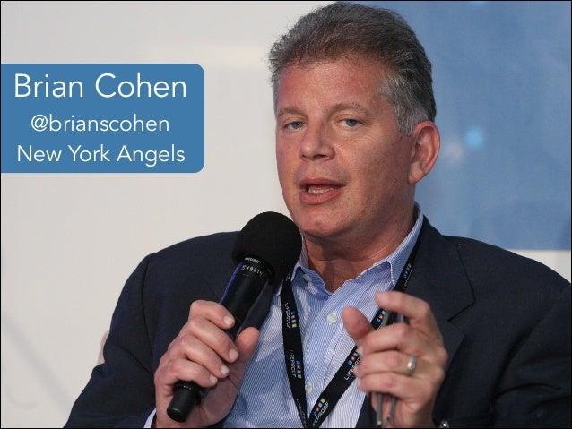 Brian Cohen @brianscohen New York Angels