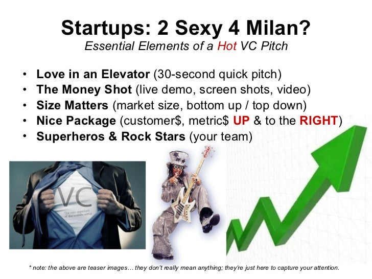 How to Pitch a VC, aka Startup Viagra (Oct 2009) Slide 2