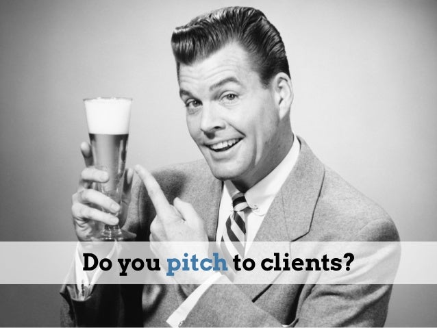 How to Pitch B2B Slide 3