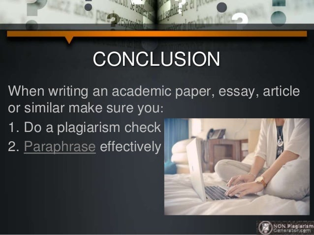 How to plagiarize an essay