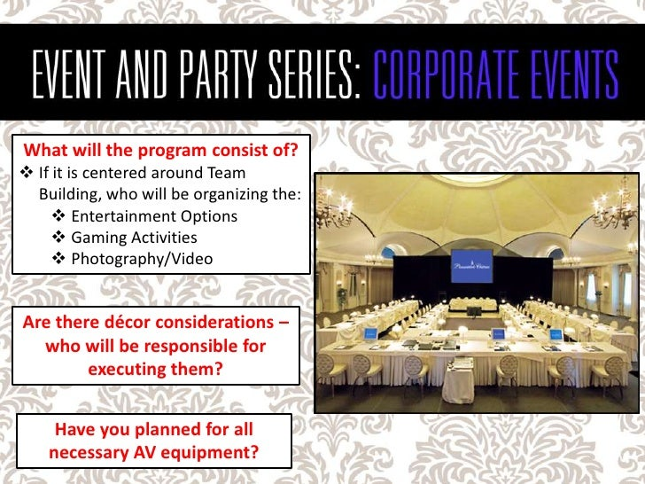 How to plan a corporate team building event