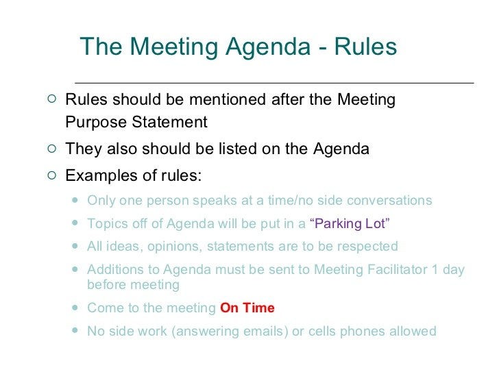 How To Plan And Lead A Meeting For Maximum Results